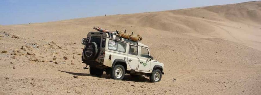 Land Rover Bush Mechanics Training and Expedition support + parts supply