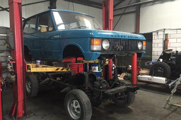Landrover Chassis off restoration in York