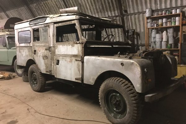 Land Rover bodywork